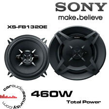 "Vauxhall Corsa <2006 SONY 5.25"" 13cm 2-Way Coaxial Rear Side Panel Speakers 460W"