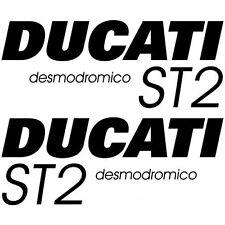 ADHESIVO PEGATINA - AUFKLEBER ADESIVI -   Ducati ST2 desmo Réf-MOTO-021