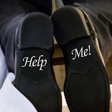 """""""HELP ME"""" - Shoe decals 