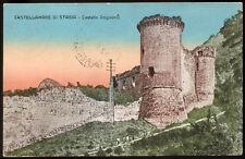 cartolina CASTELLAMARE DI STABIA castello angioino