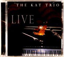 EARTH RECORDS Kat Trio LIVE Violin-Clarinet-Piano (CD, 2003) 060103