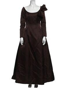 OSCAR DE LA RENTA Scoop Neck Long Dress