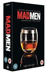 Mad Men - Seasons 1-3 [DVD], , Used; Good DVD