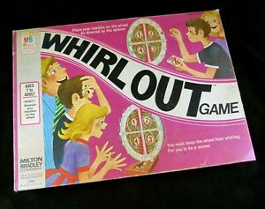 WHIRL OUT Marble Balancing Game Milton Bradley No. 4160 ©1971 Complete