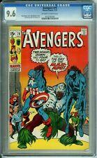 AVENGERS 78 CGC 9.6 DAY OF THE MAN-APE Marvel Comics -- 1970