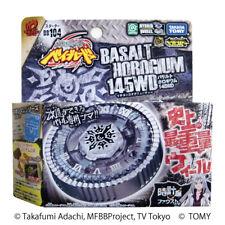TAKARA TOMY JAPAN BEYBLADE METAL FUSION BB-104 BASALT HOROGIUM 145WD +LAUNCHER