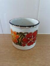 Midwinter Stonehenge Jessie Tait Nasturtium Sugar bowl very good condition
