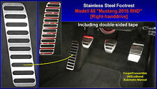 Footrest Dead Pedal Ford Mustang 2015 2016 2017 Right-hand drive UK Australia