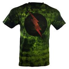 Men's T-shirt-Tie Dye-The Flash-DC Comics - Universe-100% cotton-Soft Fabric .