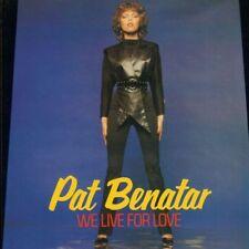 "Pat Benatar(7"" Vinyl P/S)We Live For Love-Chrysalis-CHS 2403-UK-1980-Ex/Ex"