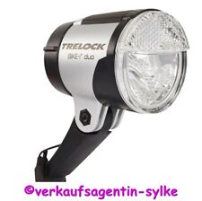 TRELOCK LS885 Duo, schwarz-silber, Fahrrad-Lampe für Dynamo 40 Lux, NEU