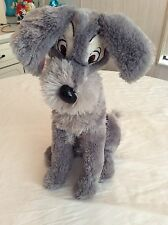 Tramp  Disney Plush Soft 16 Inch Stuffed Dog Lady and the Tramp
