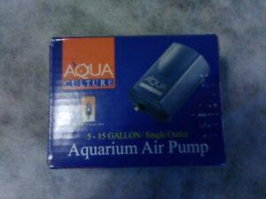 Aqua Culture 5 - 15 Gallon Aquarium Air Pump