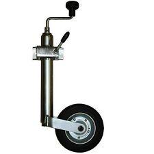 Ruota ruotino di sollevamento carrello appendice rimorchio roulotte 48mm 200mm