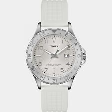 NEW Timex T2P030 Mens KALEIDOSCOPE White Watch RRP £49.99