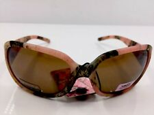 Kids Pink Camouflage Sunglasses Brown Lenses