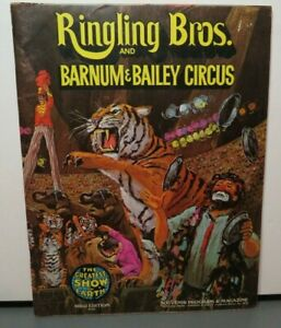 RINGLING BROTHERS AND BARNUM & BAILEY CIRCUS 102TH EDITION 1973