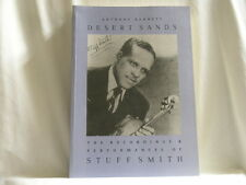 STUFF SMITH Desert Sands Recordings & Discography by Anthony Barnett BOOK + TAPE