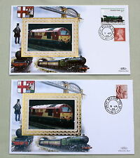Tpo final service plymouth-london paire benham railway couvre No.161 g. western hs
