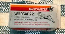 22 Winchester Wildcat 22 Long Rifle Box