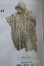 REALTREE  CAMOUFLAGE WATERPROOF HUNTING FISHING HOODED RAINCOAT RAIN CAPE PONCHO