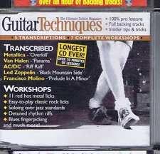 METALLICA / VAN HALEN / AC/DC CD GUITAR TECHNIQUES 70 2002