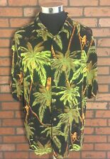 Big Dogs Monkeys in Palm Trees Shirt Size XL