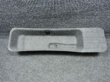 2011-2014 F150 GRAY OEM CREW CAB ONLY UNDER REAR SEAT JACK TOOLS COVER TRAY TRIM