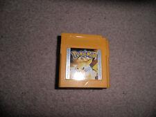 Nintendo Gameboy-pokemon Yellow-solo carro