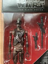"""Hasbro E7207 Star Wars The Black Series IG-11 6"""" Droid Action Figure"""