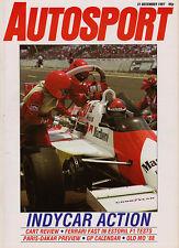 Autosport 31 Dec 1987 - Survey CART/PPG Indycar World Series, Brands Rallycross
