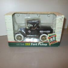 """"""" Texaco Motor Oil Co. """" 1918 Ford Mod A PU , Diecast Coin Bank,Ertl # 19486 NIB"""