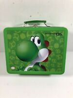 Nintendo DS Green Yoshi Lunchbox Metal Tin Carrying Case, Collectible