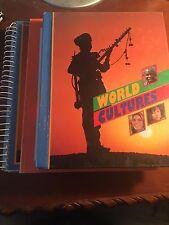 World Cultures Student-Teacher Set 1993 USED 0382209400