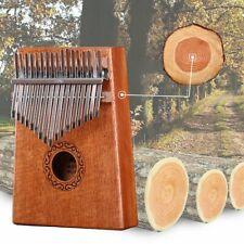 17 Touches Kalimba Thumb Piano Mbira Clavier En Bois Massif Cadeau De Naissance