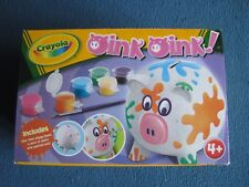 Crayola Oink Oink Create your own piggy bank! - Brand New in Box - Art craft