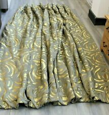 Striking Hand Made Fully Lined Single Curtain -Thames Hospice