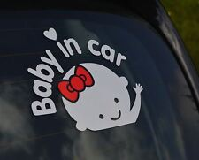 Car Window sticker Baby On Board Warning Decal Reflective Body Sign. 088