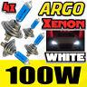 H7 XÉNON SUPER BLANC 100W AMPOULES FEUX DE CROISEMENT 12V PHARE PHARE HID X 4