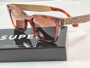 RetroSuperFuture America Francis Leopard Sunglasses SUPER 926 NIB