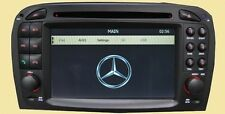 Autoradio dvd / gps / navi / bt / ipod player MERCEDES BENZ SL Classe R230 01-04 hl-8817
