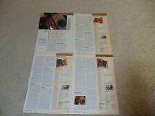 Speaker Review, 5 pgs, Jordan, Monitor, Sony, SD Acoust