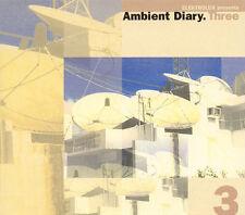 ELEKTROLUX presents AMBIENT DIARY.THREE - RARE 2 CD DIGIPAK EDITION - 2000 - IT