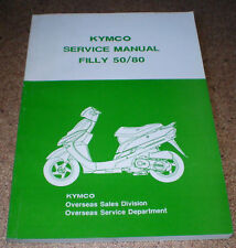 Werkstatthandbuch Kymco Roller Filly 50/80 Stand 1998