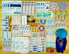 Family First Aid Medical Supply Kit - Trauma Emergency Travel Set Bug Out Bag