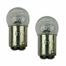 TWO 12V 10W/5W CHINESE MOPED & SCOOTER TURN SIGNAL LIGHT BULB - CLEAR.
