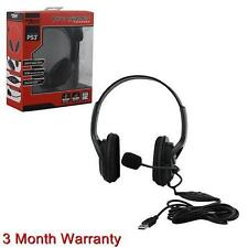 Komodo Live Pro Gamer Headset With Mic For PS4 PS3 Playstation 4 KMD
