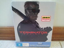Terminator Genisys Blu Ray Limited Edition Steelbook Exclusive Brand New Sealed