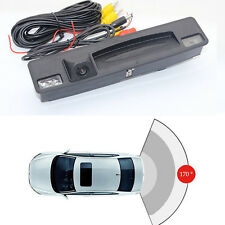 Trunk Handle Rear View Camera Backup Parking for Ford Focus 2015-2017 hatchback