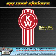 Kenworth Trucks Logo 20cm Vinyl Sticker Decal, 4X4 Ute Car Truck Toolbox Window